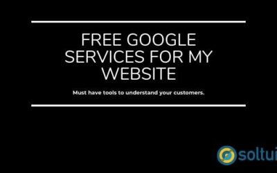 Free Google services for my website