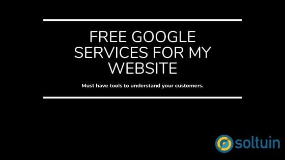 free google services for websites