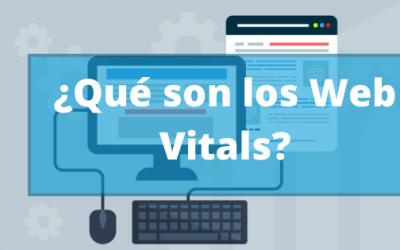 ¿Qué son los web vitals?